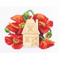 Набор для вышивания RTO MBE9004 Улица цветов