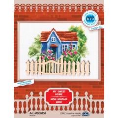 Набор для вышивания РТО MBE9006 Мой милый дом