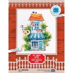 Набор для вышивания РТО MBE9008 Мой милый дом