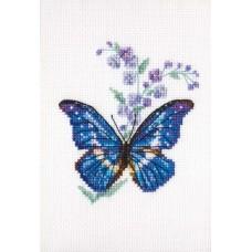 Набор для вышивания RTO EH364 Синюха и бабочка