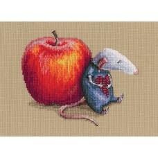Набор для вышивания RTO M799 Влюбился мышь однажды