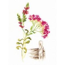Набор для вышивания RTO M777 Цветущие травы