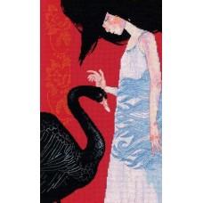 Набор для вышивания RTO M793 Черный лебедь