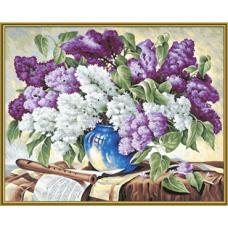 """Набор для рисования красками Schipper 0324 """"Сирень в вазе"""""""