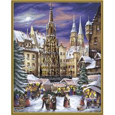 """Набор для рисования красками Schipper 0336 """"Рождественская ярмарка в Нюрнберге"""""""