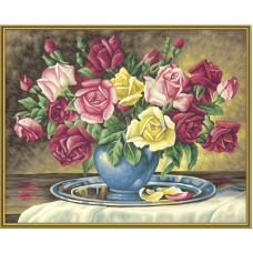"""Набор для рисования красками Schipper 0350 """"Розы для тебя"""""""