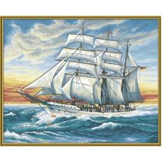 """Набор для рисования красками Schipper 0358 """"Корабль"""""""