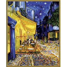 """Набор для рисования красками Schipper 0359 """"Кафе на террасе. Ван Гог"""""""