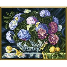 "Набор для рисования красками Schipper 0363 ""Гортензия"""
