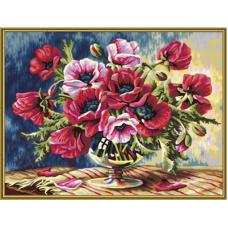 """Набор для рисования красками Schipper 0365 """"Маки"""""""