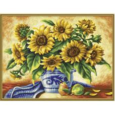 """Набор для рисования красками Schipper 0366 """"Подсолнухи"""""""