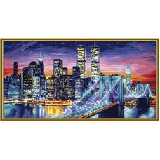 "Набор для рисования красками Schipper 0369 ""Манхэттен ночью"""