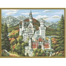 """Набор для рисования красками Schipper 0372 """"Замок"""""""