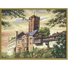 "Набор для рисования красками Schipper 0388 ""Замок Вартбург"""
