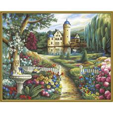 "Набор для рисования красками Schipper 0391 ""Летний замок"""