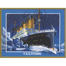 """Набор для рисования красками Schipper 0392 """"Титаник"""""""