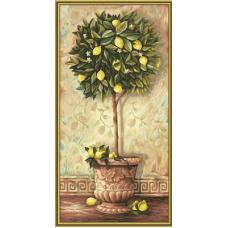 """Набор для рисования красками Schipper 0397 """"Лимонное дерево"""""""