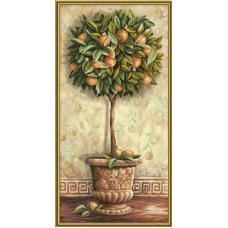 """Набор для рисования красками Schipper 0398 """"Апельсиновое дерево"""""""