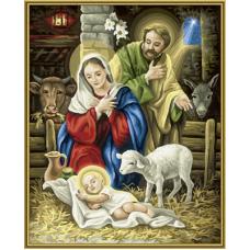 "Набор для рисования красками Schipper 0402 ""Рождение Христа"""