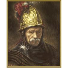 """Набор для рисования красками Schipper 0406 """"Человек в золотом шлеме"""""""