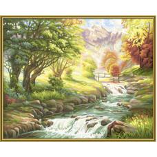 "Набор для рисования красками Schipper 0412 ""Горная река"""