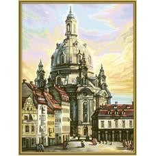"""Набор для рисования красками Schipper 0414 """"Фрауэнкирхе. Дрезден"""""""