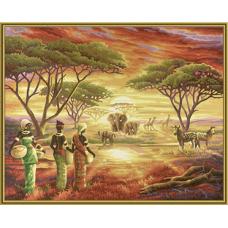 """Набор для рисования красками Schipper 0426 """"Африка"""""""