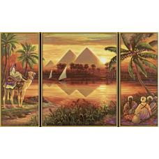 """Набор для рисования красками Schipper 0442 """"Пирамиды"""""""