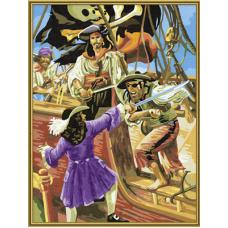 """Набор для рисования красками Schipper 0484 """"Пираты"""""""
