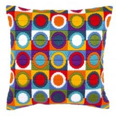 """Набор для вышивания VERVACO PN-0021380 """"Многоцветные круги"""""""
