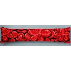 """Набор для вышивания VERVACO 1235/5002 Подушка """"Алые цветы"""""""