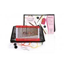 Набор деревянных съемных спиц Deluxe Symfonie Wood KnitPro 20613