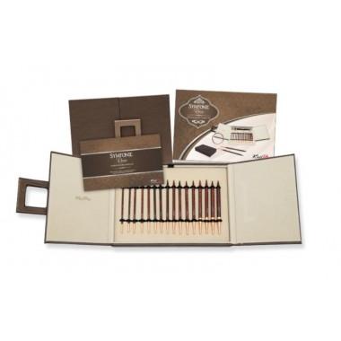 Набор деревянных съемных спиц Deluxe в подарочной коробке Simfonie Rose KnitPro 20617
