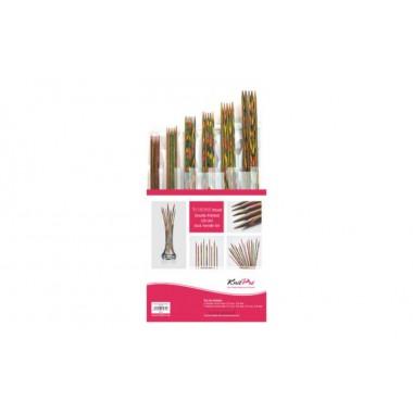 Набор деревянных носочных спиц 20 см Symfonie Wood KnitPro 20631