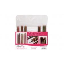 Набор деревянных носочных спиц 10 см Symfonie Wood KnitPro 20650