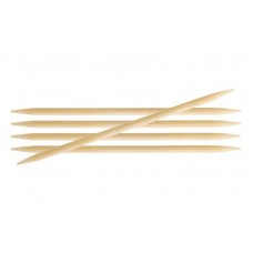Спиці шкарпеткові 20 см KnitPro Bamboo 22131 5.50 мм
