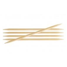 Спиці шкарпеткові 20 см KnitPro Bamboo 22136 9.00 мм