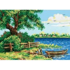 Канва с рисунком Collection D'Art CDA 10196