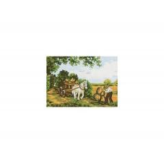 Канва с рисунком Collection D'Art CDA 3211