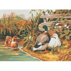 Канва с рисунком Collection D'Art CDA 6029