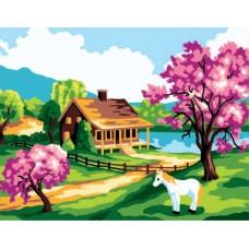 Канва с рисунком Collection D'Art CDA 6186