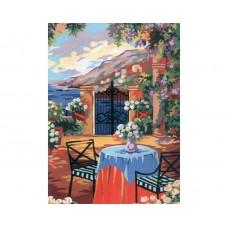Канва с рисунком Collection D'Art CDA 6193