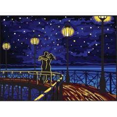 Канва с рисунком Collection D'Art CDA 6325