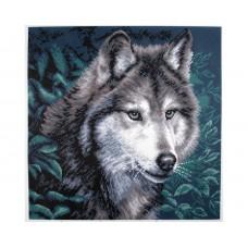 "Канва с рисунком Collection D'Art Аида PA0970 ""Wolf"""