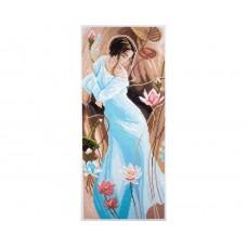 "Канва с рисунком Collection D'Art Аида PA1051 ""Romance"""