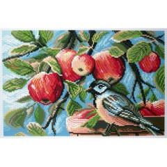 "Канва с рисунком Collection D'Art Аида PA1179 ""In the apple garden"""