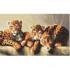 Набор для вышивки LETISTITCH Leti 910 Леопарды
