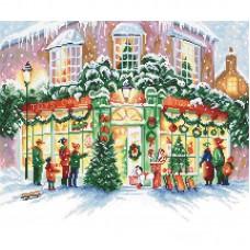 Набор для вышивки LETISTITCH Leti 914 Рождественский магазин
