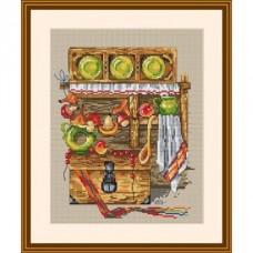 Набор для вышивания крестом Мережка К-09 Каждой молодушке - дом, сундук и кошечку (часть 3)