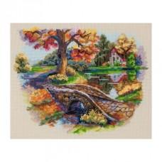 Набор для вышивания крестом Мережка К-103 Осенний пейзаж